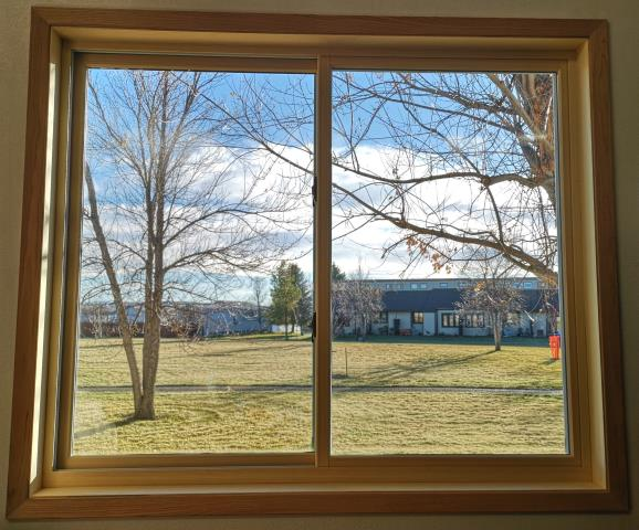 Great Falls, MT - This home in Great Falls, MT upgraded their windows to our Energy Efficient Fibrex Windows!