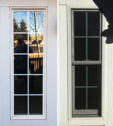 Laramie, WY - This Laramie, WY home upgraded their windows to our Energy Efficient Fibrex Windows!