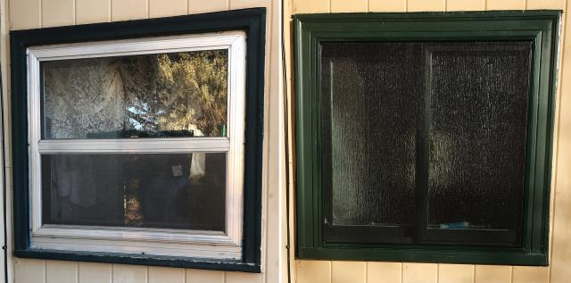 Custer, SD - This Custer, SD home upgraded their windows to our Energy Efficient Fibrex Windows!