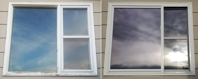Billings, MT - This home in Billings, MT upgraded their windows to our Energy Efficient Fibrex Windows!