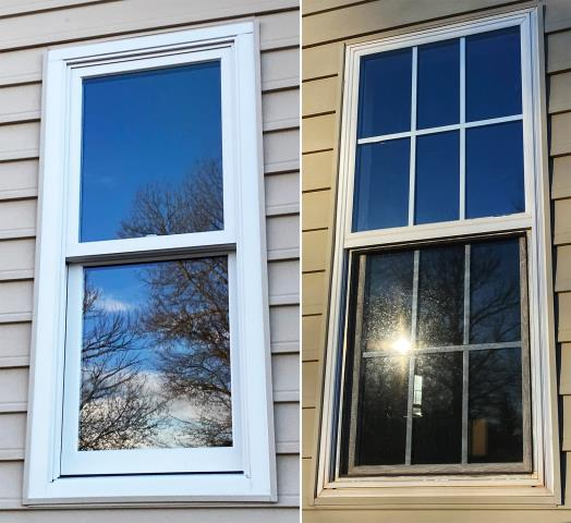Black Hawk, SD - This Black Hawk, SD home upgraded their windows to our Energy Efficient Fibrex Windows!