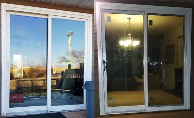 Spearfish, SD - This Spearfish, SD home upgraded their Patio Door to our Energy Efficient Fibrex Sliding Glass Patio Door!