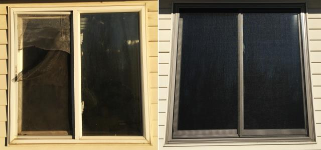 Gillette, WY - This Gillette, WY home upgraded their windows to our Energy Efficient Fibrex Windows!