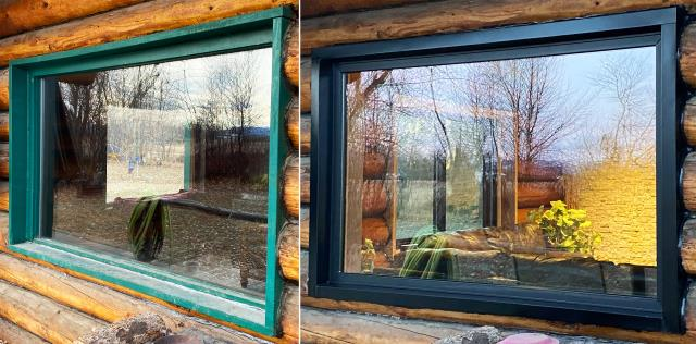 Belgrade, MT - This Belgrade, MT home upgraded their home with our Energy Efficient Fibrex Windows!