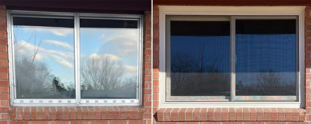 Riverton, WY - This Riverton, WY home upgraded their windows to our Energy Efficient Fibrex Windows!