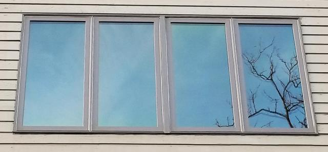 Billings, MT - This Billings, MT condo upgraded their windows to our Energy Efficient Fibrex Windows!
