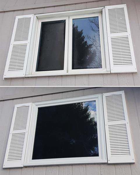 Sheridan, WY - This Sheridan, WY home upgraded their windows to our Energy Efficient Fibrex Windows!