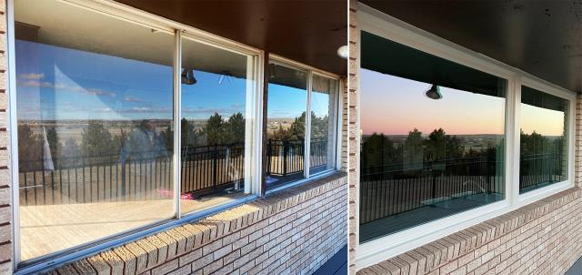 Chappell, NE - This Chadron, NE home upgraded their windows to our Energy Efficient Fibrex Windows!