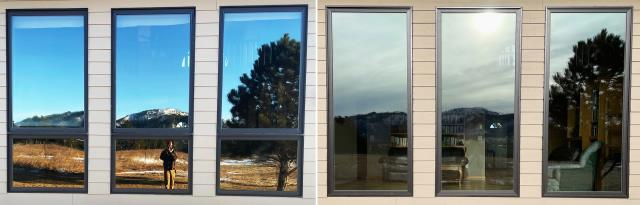 Spearfish, SD - This Spearfish, SD home upgraded their windows to our Energy Efficient Fibrex Windows!
