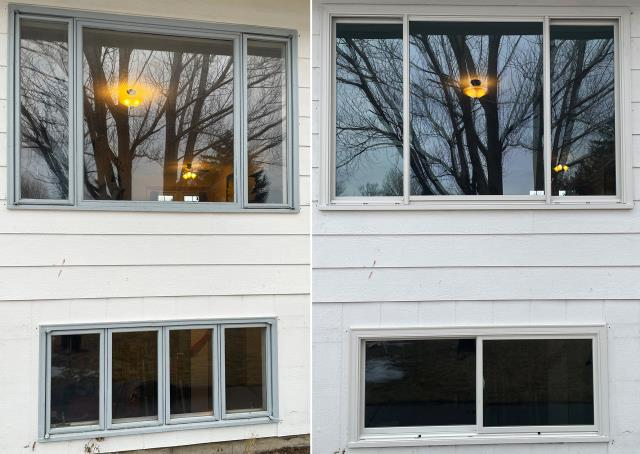 Belgrade, MT - This Belgrade, MT home upgraded their windows to our Energy Efficient Windows!