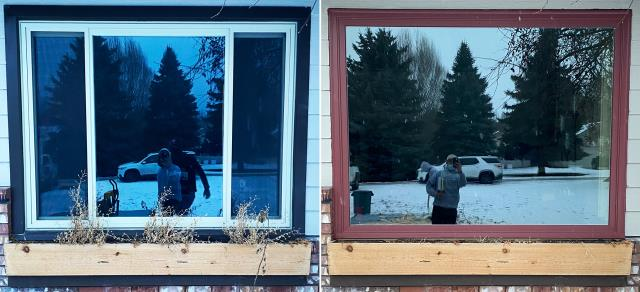 Kalispell, MT - This Kalispell, MT home upgraded their windows to our Energy Efficient Windows!