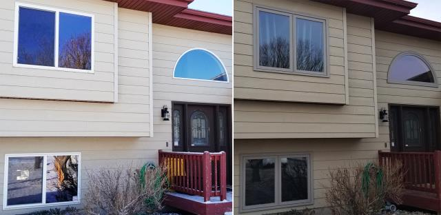 Rapid City, SD - This Rapid City, SD home upgraded their windows to our Energy Efficient Windows!