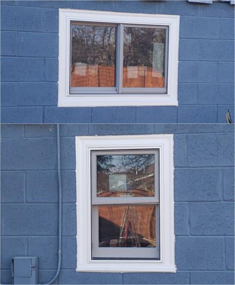 Spearfish, SD - This Customer in Spearfish updated their home with our energy efficient Fibrex® windows!