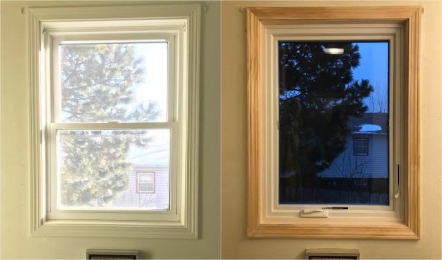 Spearfish, SD - These Spearfish customers replaced this inefficient  window with a new Fibrex® RbA window!