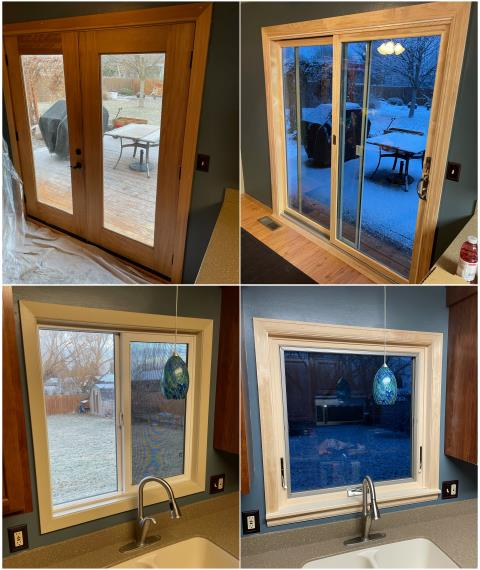 Missoula, MT - Check out the difference this new Patio Door & Awning Window made on this home in Missoula!