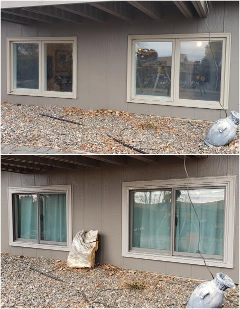 Billings, MT - This customer updated their old gliding windows with new RbA Fibrex® Gliders in Billings!