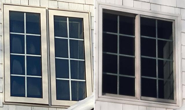 Belgrade, MT - This Belgrade, MT home upgraded their windows to our Energy Efficient Fibrex Windows!