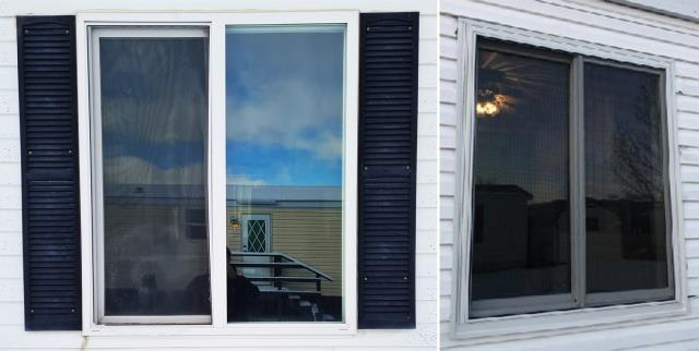 Missoula, MT - This Missoula, MT home upgraded their windows to our Energy Efficient Fibrex Windows!