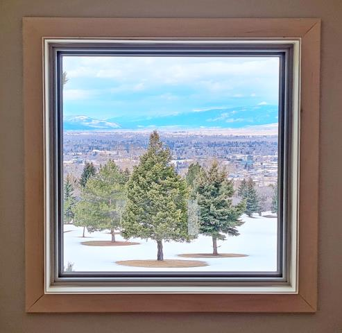 Missoula, MT - This Montana home is enjoying their beautiful views through their new cystal clear, energy efficient Renewal by Andersen Fibrex windows.
