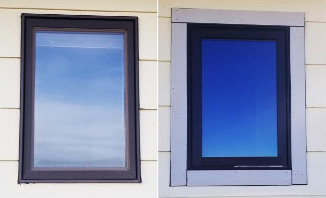 Belgrade, MT - This Belgrade, MT home upgraded their windows to our 5 star Energy Efficient Fibrex Windows!