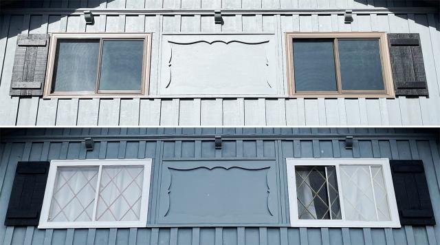 Helena, MT - This Helena, MT home upgraded their windows to our 5 Star Energy Efficient Fibrex Windows!