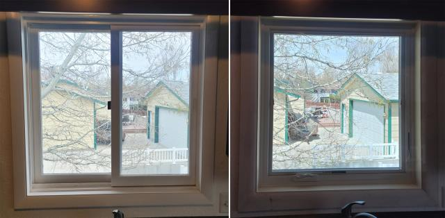 Billings, MT - This Billings, MT home upgraded their windows to our 5 Star Energy Efficient Fibrex Windows!