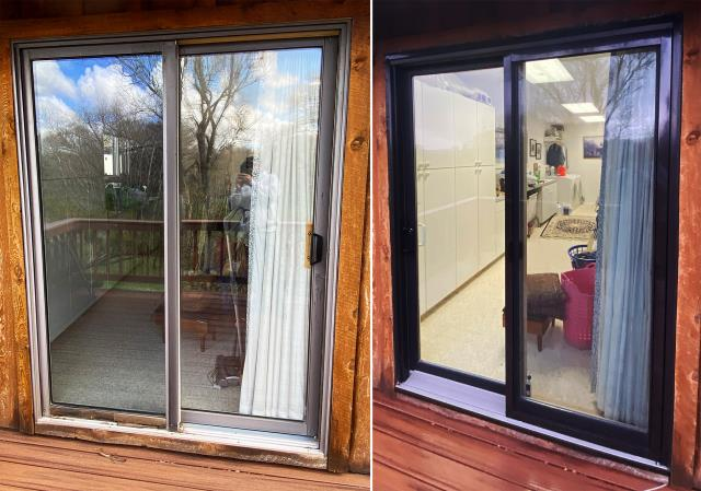 Livingston, MT - This Livingston, MT home upgraded their windows to our 5 Star Energy Efficient Fibrex Windows!