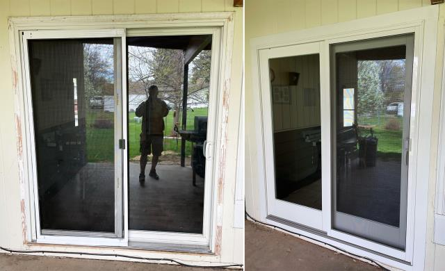 Great Falls, MT - This Great Falls, MT home upgraded their windows to our 5 Star Energy Efficient Fibrex Windows!