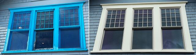 Butte, MT - This Butte, MT home upgraded their window to our 5 Star Energy Efficient Fibrex Windows!