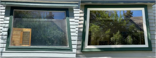 Helena, MT - Check out this upgraded RbA Fibrex® picture window we did in Helena!