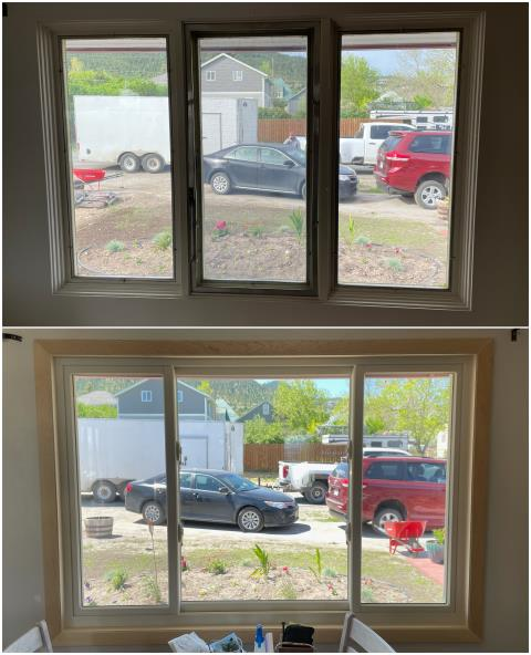 Helena, MT - Check out the difference these new RbA windows made for this customers view in Helena!