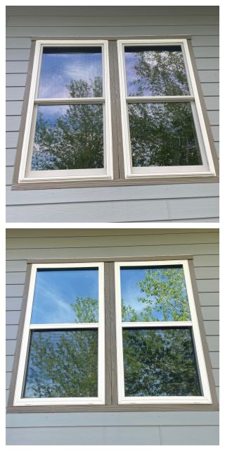 Butte, MT - Look at this before and after on these beauties! Great install done in Butte!