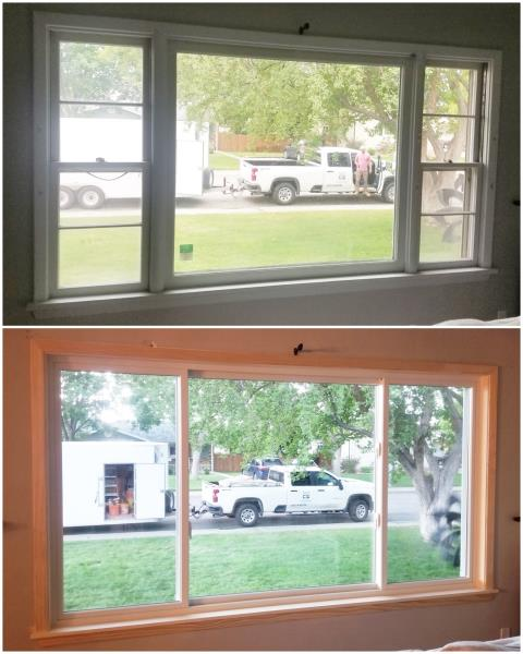 Billings, MT - Look at this gorgeous RbA Fibrex® window! Install done in Billings!