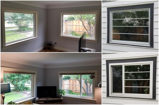 Missoula, MT - Beautiful job done in Missoula! Day and night difference with these RbA Fibrex® windows!