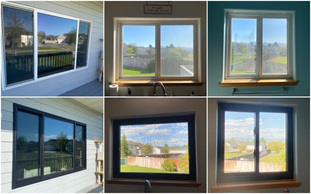 Helena, MT - Amazing upgrade done with our RbA Fibrex® windows in Helena!