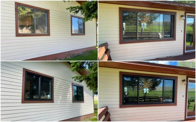Butte, MT - Night and Day difference with our RbA Fibrex® windows!! Install done in Divide!