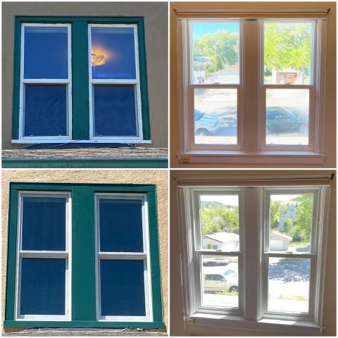 Helena, MT - These folks upgraded their old windows for our RbA Fibrex® windows! Install done in Helena!
