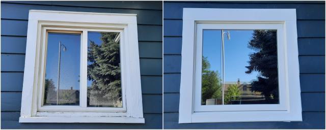 Billings, MT - Amazing upgrade done in Billings! Look at that beautiful RbA Fibrex® window!