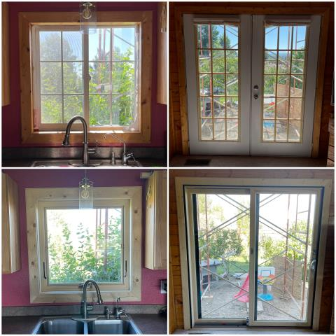 Great Falls, MT - Check out our RbA Fibrex® windows and glider that were installed in Great Falls!