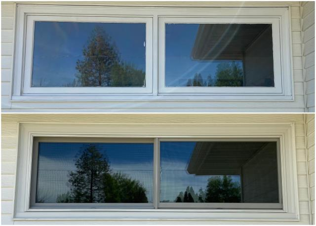 Great Falls, MT - Beautiful transformation done in Great Falls with our RbA Fibrex® windows!