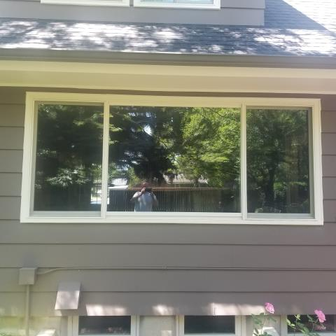 Billings, MT - Great install done with this RbA Fibrex® window in Billings!