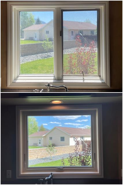Butte, MT - Gorgeous kitchen upgrade with our RbA Fibrex® window! Install done in Butte!