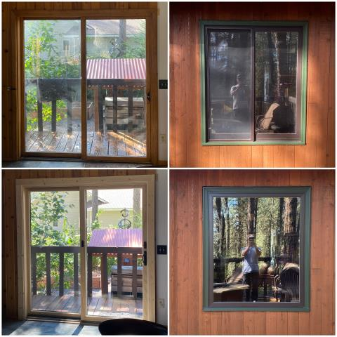 Kalispell, MT - These folks in Kalispell upgraded their window and glider to our RbA Fibrex®