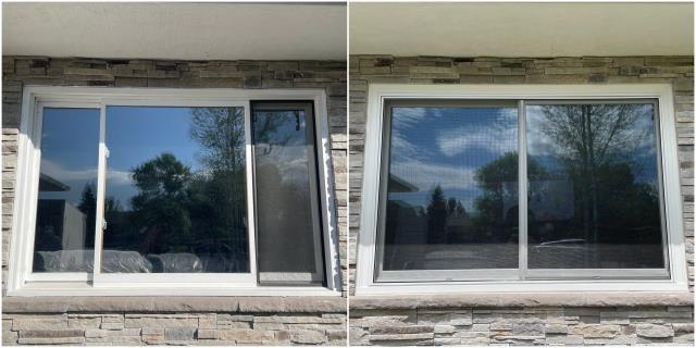 Belgrade, MT - These folks in Belgrade upgraded their old windows to our RbA Fibrex® windows!