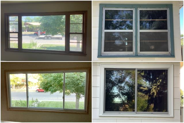 Billings, MT - Stunning upgrade done with our RbA Fibrex® windows in Billings!