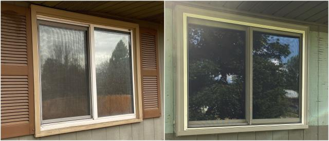 Missoula, MT - Great upgrade done with our RbA Fibrex® window in Missoula!