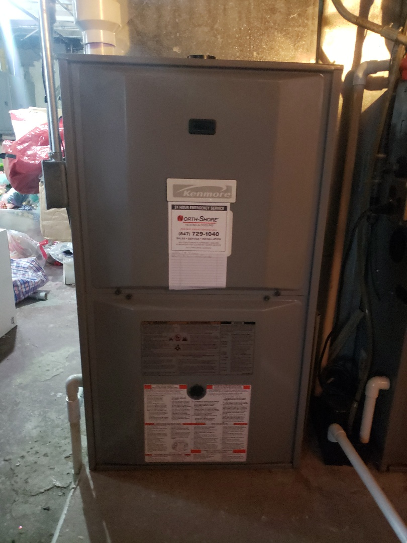 Furnace tune up and furnace repair on Kenmore furnace located near you in Evanston Illinois. Replace Capacitor. Looking for a top rated HVAC contractor near you in Glenview Illinois. Call North Shore Heating and Cooling at 847-729-1040. We are experts in furnace service, furnace maintenance as well as furnace replacement and furnace installation. Call today to schedule you furnace repair, furnace cleaning or a free estimate for a furnace replacement. Visit us at www.northshoreheatingandcooling.com