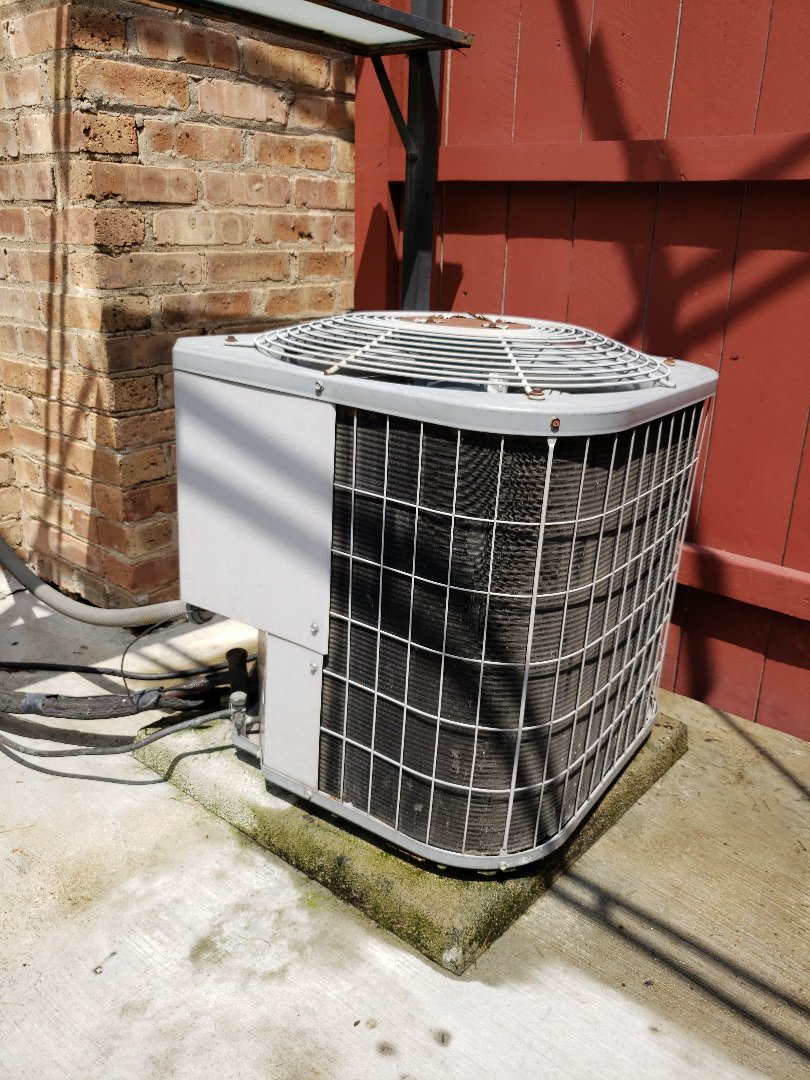 AC not cooling. Perform ac service on air conditioner located in Glenview Illinois. Replace capacitor. North Shore Heating and Cooling has been serving the north shore suburbs for over 30 years including Northbrook, Deerfield, Highland Park, Wilmette, Winnetka, Lincolnshire, Riverwoods. Glencoe, Northfield and Golf. Call today for your AC tune-up at 847-729-1040 and visit us at www.northshoreheatingandcooling.com/special-offers