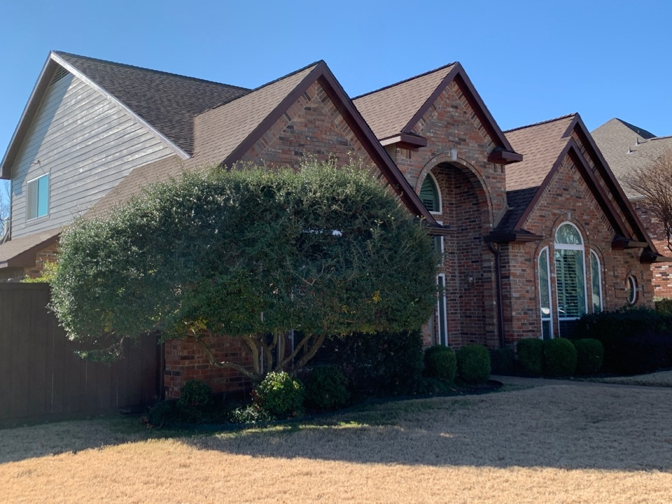 Allen, TX - Roofing and siding completed! New roofing system, siding replaced with Hardie and painted. Next we are going to remodel the master bathroom.