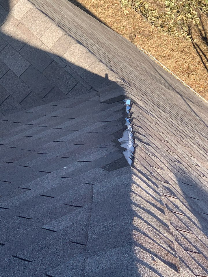 McKinney, TX - Roof repairs and window replacement